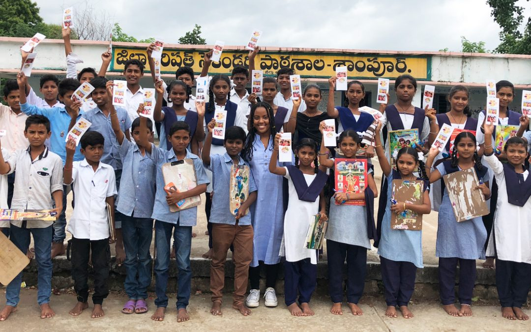 Talking nutrition with adolescents in tribal regions of Telangana