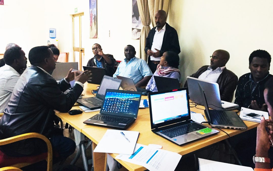 Training on digital seed roadmap use enables delivery of quality seeds to smallholder farmers
