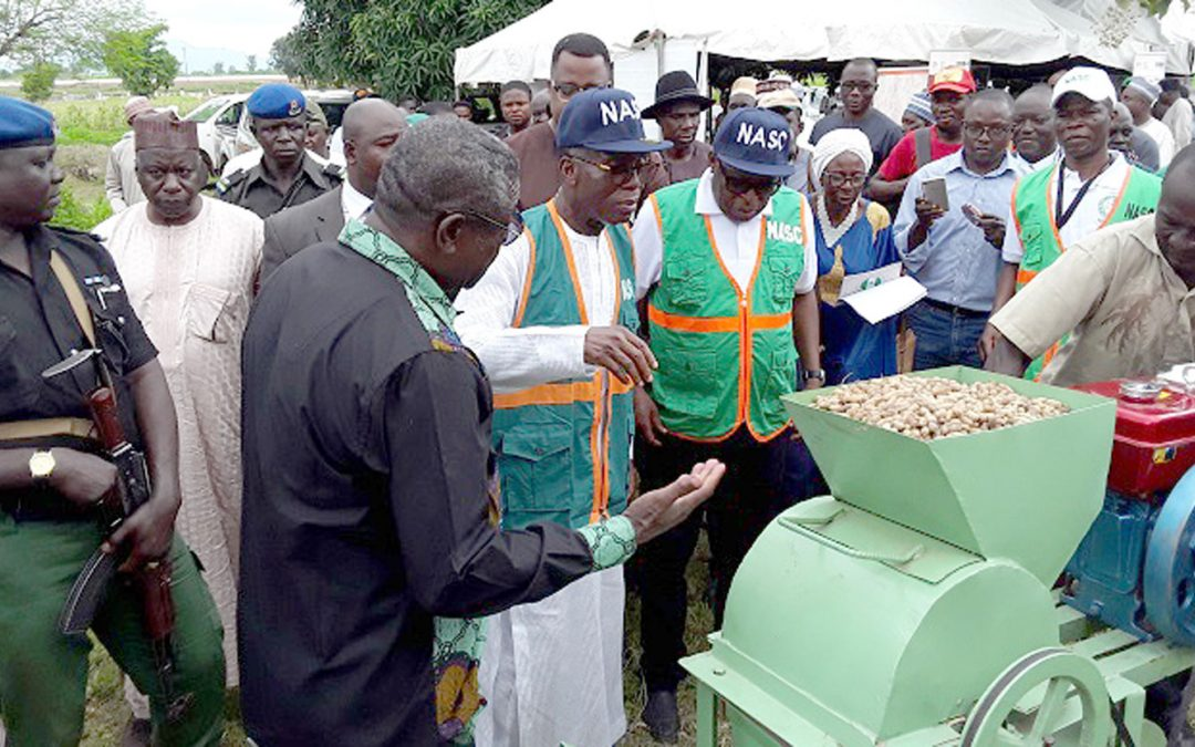 Nigerian Agriculture Minister endorses groundnut thresher