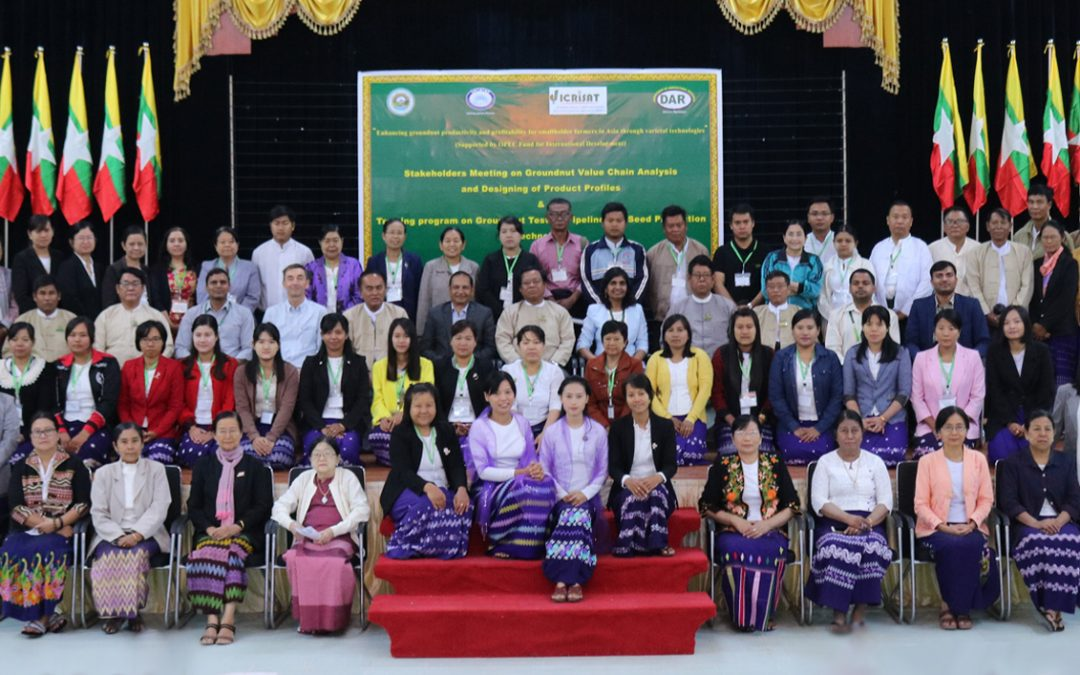 Stakeholders meet discusses solutions to unshackle Myanmar's groundnut value chain