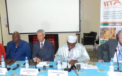 Climate-smart technologies to build resilience in agriculture of Niger, Mali