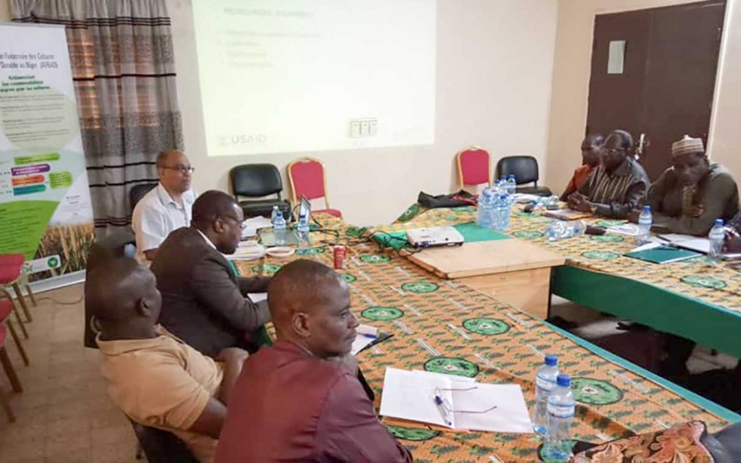 Facilitating training programs for improving crop-livestock systems in Niger