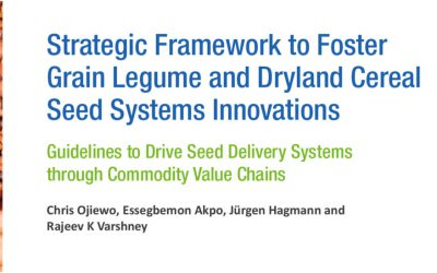 Five-year plan for driving Grain Legume and Dryland Cereals seed delivery systems through commodity value chains
