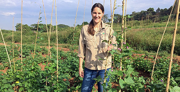 PABRA mentors award winning scientist on Improving smallholder farmers' food security through disease resistant common beans