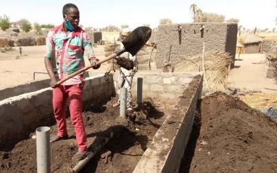 Smallscale composting can help put the brakes on youth immigration in Niger