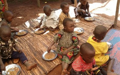 Women in Burundi supported to save time and improve children's nutrition
