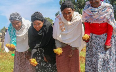 How can migration-induced feminization of agriculture empower women in the dry areas?